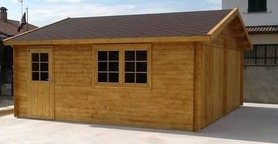 Come costruire un garage in legno cliccare sulle immagini for 2 piani di garage per auto con soppalco